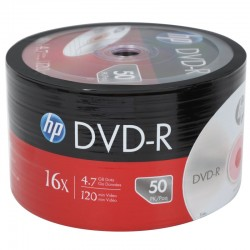DVD-R PHILIPS 4.7GB 50 Pack