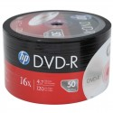 DVD-R HP 4.7GB 16X PQT DE 50