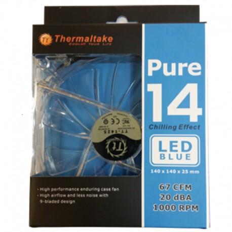 Ventilateur140MM Thermaltake PURE 14 LED Rouge