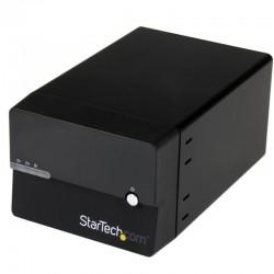 """Boîtier Serveur Gigabit NAS RAID pour 2 Disques Durs SATA 3,5"""" avec WebDAV et Serveur Multimédia"""