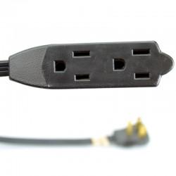 Rallonge Électrique à 3 Prises 15'