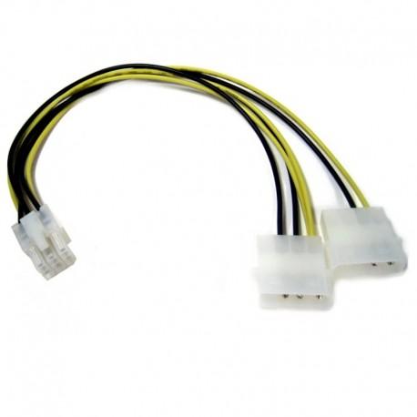 """Cable Molex a 6 Pins 10"""""""